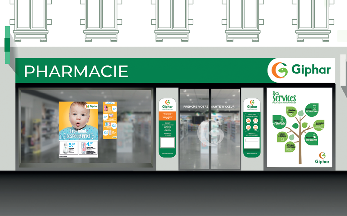 PHARMACIE PLACE DE FRANCE